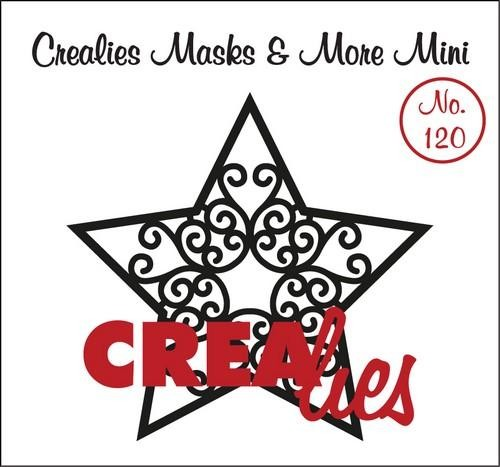 Crealies - Mask & More Mini - Ster A 120