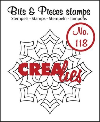 Clearstamp - Crealies - Bits & Pieces - no 118 Mandala E