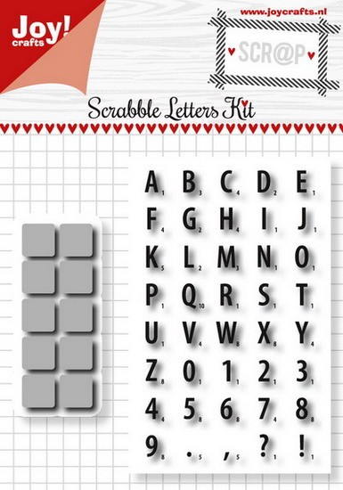 Noor! Design - Scr@p! - Scrabble letter set