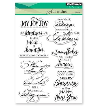 Penny Black - Clearstamp - Joyful Wishes