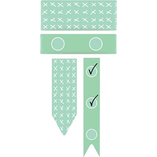 We R Chomper Washi Tape - Mint Checklist