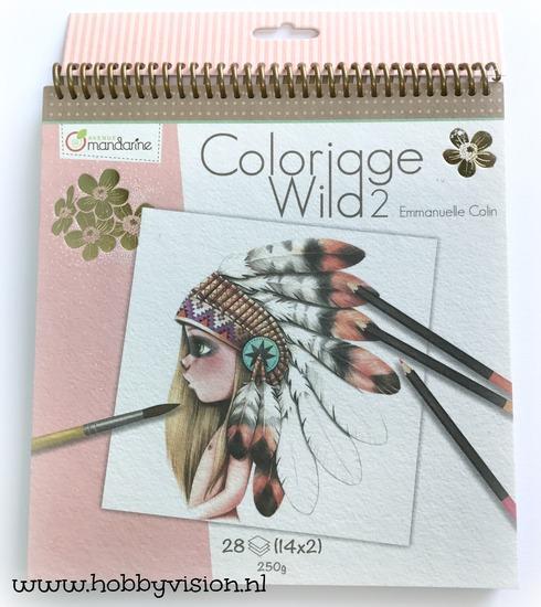 Kleurboek - Coloriage Wild door Emmanuelle Colin - deel 2