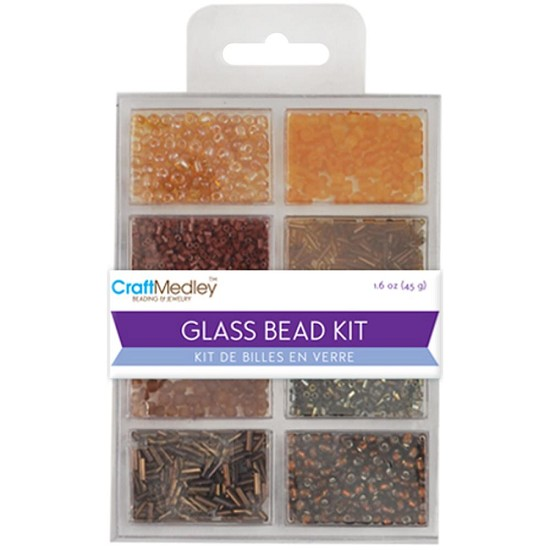 Schudmateriaal - Glass Bead Kit - Nuggets