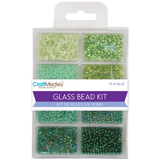 Schudmateriaal - Glass Bead Kit - Going Green