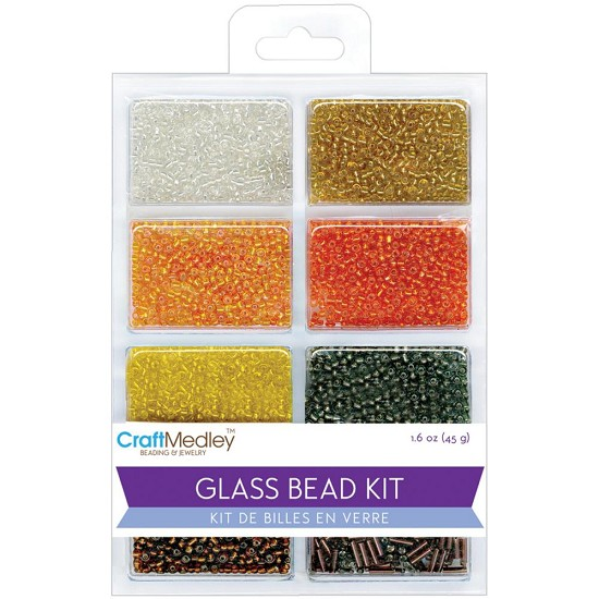 Schudmateriaal - Glass Bead Kit - Dazzling Metallics