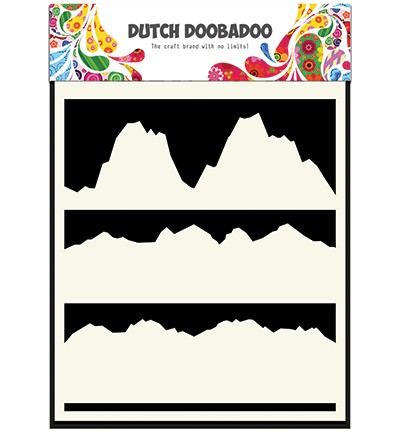 Dutch Doobadoo - Dutch Mask Art - A5 Landscape