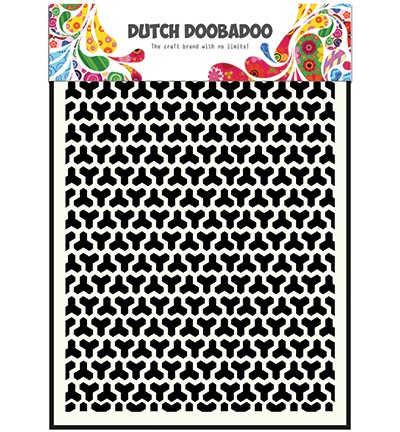 Dutch Doobadoo - Dutch Mask Art - A5 Geomatric Blocks
