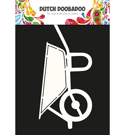 Dutch Doobadoo - Dutch Card Art - Kruiwagen