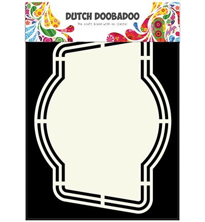 Dutch Doobadoo - Dutch Shape Art - Label 4