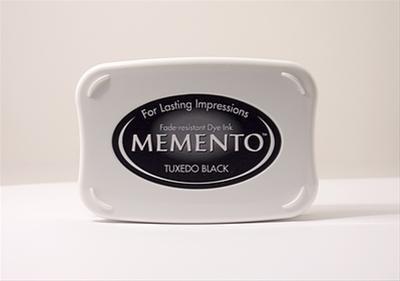 Memento inktkussen - Tuxedo Black