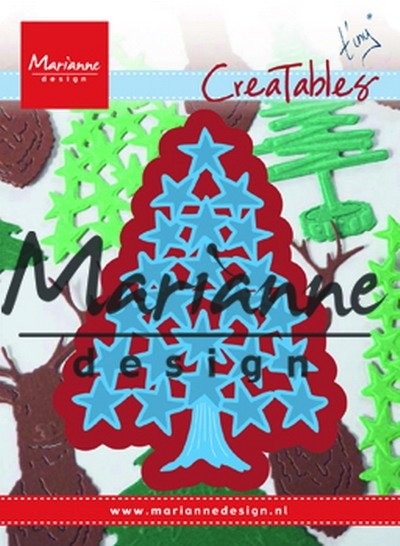 Marianne Design - Creatables - Tiny`s Christmas Tree with Stars
