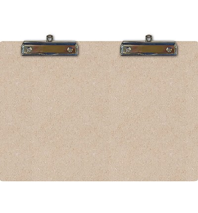 Pronty MDF - Clipboard Double A5 - 2 clips met oog