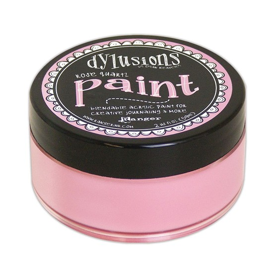 Dyan Reaveley`s - Dylusions Paint - Rose Quartz