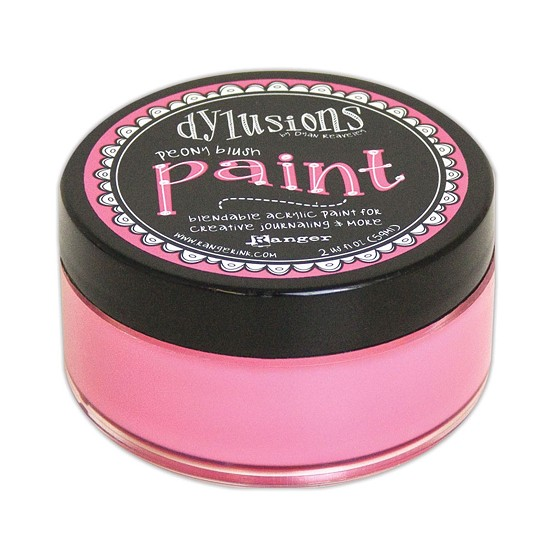 Dyan Reaveley`s - Dylusions Paint - Peony Blush