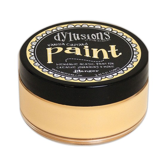 Dyan Reaveley`s - Dylusions Paint - Vanilla Custard