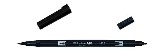 Tombow - Dual Brush Pen - Black ABT-N15