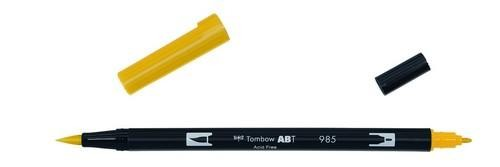 Tombow - Dual Brush Pen - Chrome Yellow ABT-985