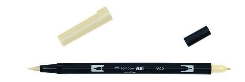 Tombow - Dual Brush Pen - Tan ABT-942