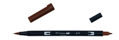 Tombow - Dual Brush Pen - Brown ABT-879