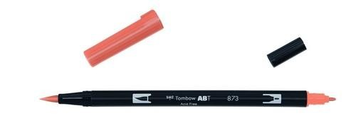 Tombow - Dual Brush Pen - Coral ABT-873