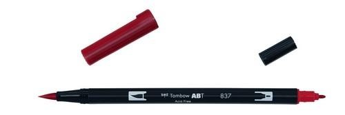 Tombow - Dual Brush Pen - Wine Red ABT-837