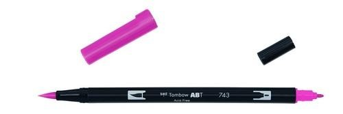 Tombow - Dual Brush Pen - Hot Pink ABT-743