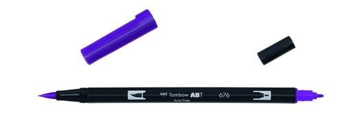 Tombow - Dual Brush Pen - Royal Purple ABT-676