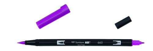 Tombow - Dual Brush Pen - Purple ABT-665