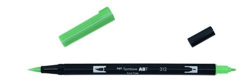 Tombow - Dual Brush Pen - Holly Green ABT-312