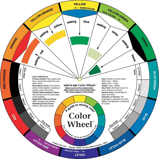Color Wheel - 9,25""