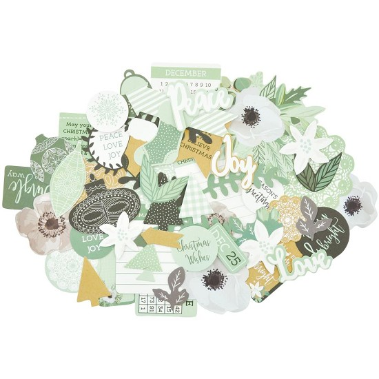 Kaisercraft - Mint Wishes - Collectables Cardstock Die-Cuts
