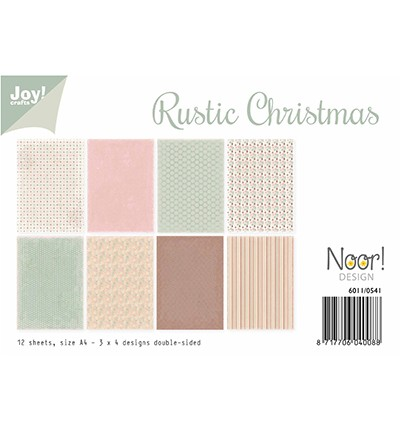 Noor! Design - Paperpad A4 - Rustic Christmas