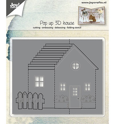 Joy! Crafts - Cutting & Embossing mal - Pop up 3D - House