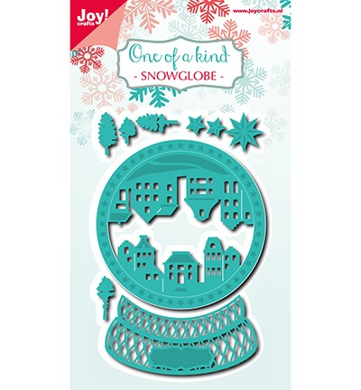 Noor! Design - One of a Kind - Snowglobe