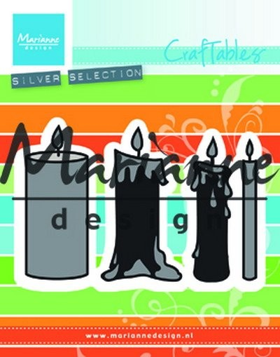 Marianne Design - Craftable - Candles Set