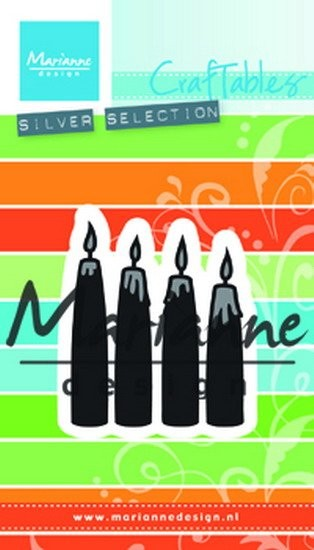 Marianne Design - Craftable - Advent candles