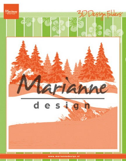Marianne Design - Design Folder - Winterwood
