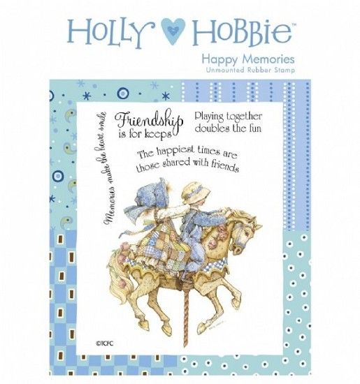 Rubber stamp Crafter`s Companion - Holly Hobbie - Happy Memories