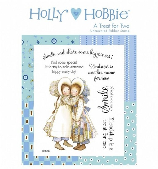 Rubber stamp Crafter`s Companion - Holly Hobbie - A Treat for Two