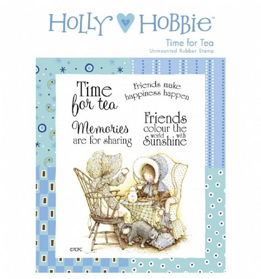 Rubber stamp Crafter`s Companion - Holly Hobbie - Time for Tea