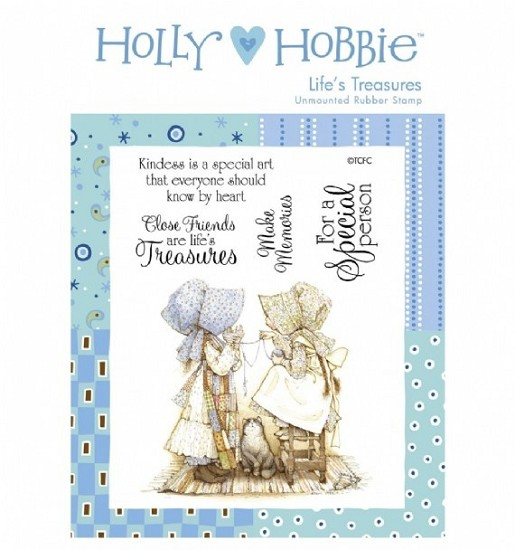 Rubber stamp Crafter`s Companion - Holly Hobbie - Life`s Treasures