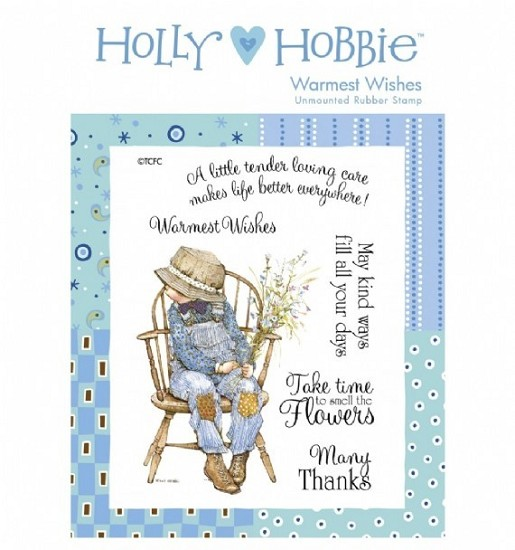 Rubber stamp Crafter`s Companion - Holly Hobbie - Warmest Wishes