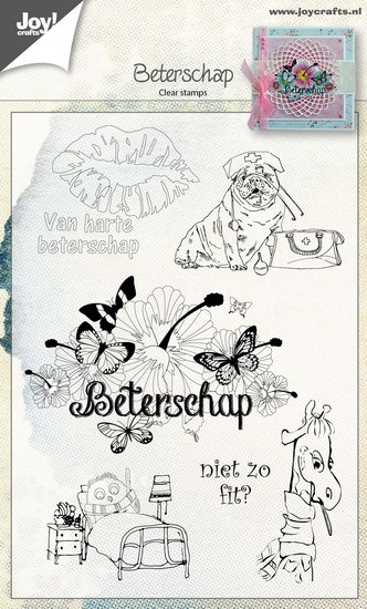 Joy! Crafts - Clearstamp - Beterschap NL