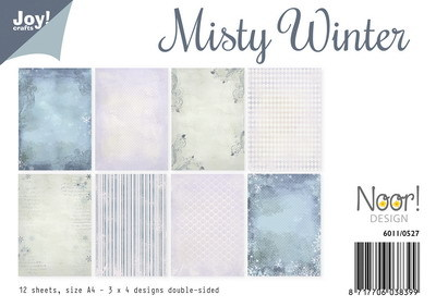 Noor! Design - Paperpad A4 - Misty Winter