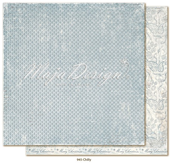 Scrappapier Maja Design - Joyous Winterday - Chilly