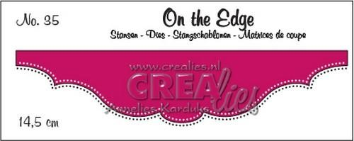 Stansmal Crealies - On the Edge - nr 35