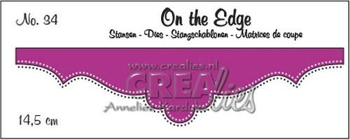 Stansmal Crealies - On the Edge - nr 34