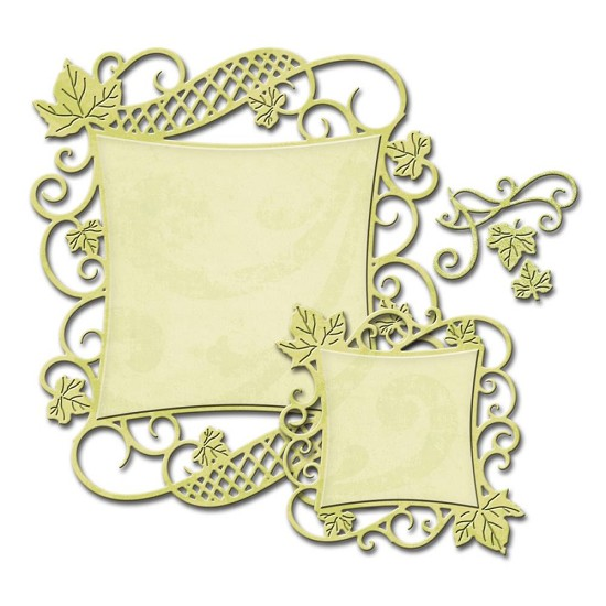 Spellbinders - Nestabilities - Decorative Curved Square