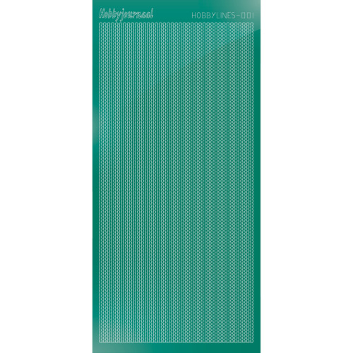 Hobbylines sticker - Mirror Christmas Green