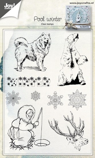 Joy! Crafts - Clearstamp - Poolwinter